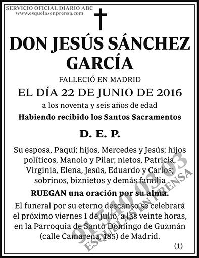 Jesús Sánchez García